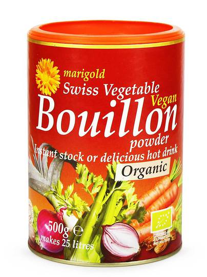 Marigold Organic Bouillon Stock Powder (vegan), 150g