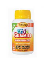 Radiance Kids Gummies Calcium + D3, 60