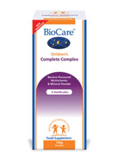 Biocare Children's Complete Complex - Multinutrient, 150g Powder