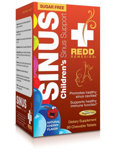 Redd Remedies Children's Sinus Support, 60tabs