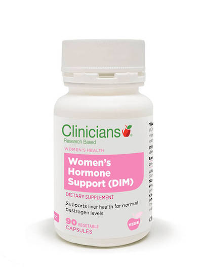 Clinicians Women's Hormone Support (DIM) 90 vegecaps