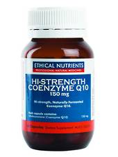 Ethical Nutrients Hi Strength Q10, 150mg, 30 or 60 caps