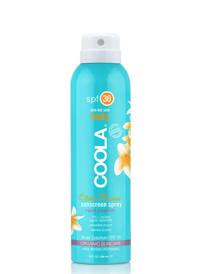 Coola Eco-Lux Body Sunscreen Spray, SPF30