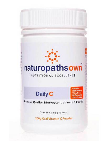 Naturopathsown High Dose Daily C Powder, 200g