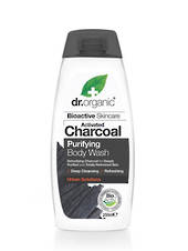 Dr. Organic Charcoal Purifying Body Wash, 250ml