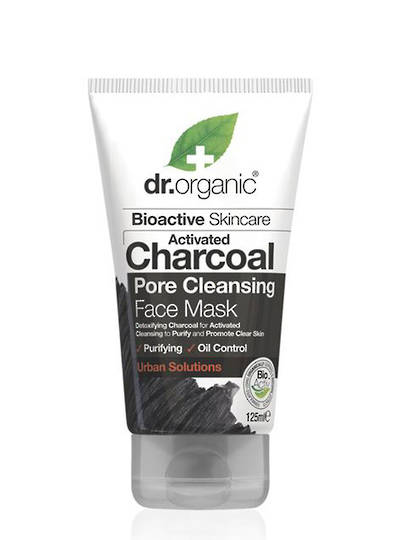 Dr. Organic Charcoal Pore Cleansing Face Mask, 125ml