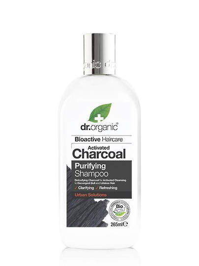 Dr. Organic Charcoal Purifying Shampoo, 265ml