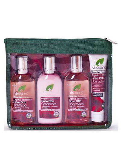 Dr. Organic Rose Otto Travel 4 Pack