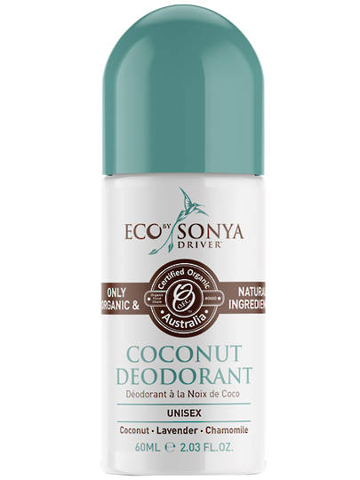 Eco Tan - Eco by Sonya Natural Coconut Deodorant, 60ml
