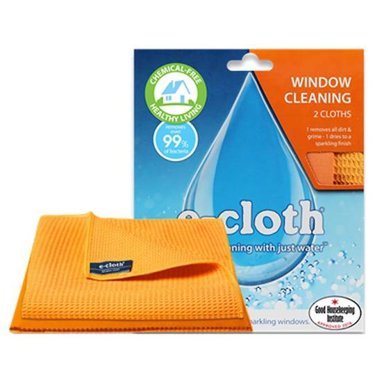 E-Cloth Window Cleaning Cloths (2 pack)