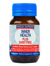 Ethical Nutrients Inner Health Plus Dairy Free, 30 and 90 Capsules