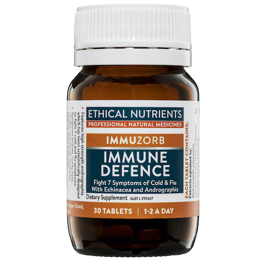 Ethical Nutrients Immuzorb Immune Defence, 30 Tablets