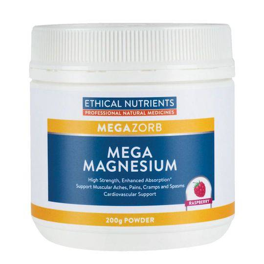 Ethical Nutrients Mega Magnesium, 200g Powder