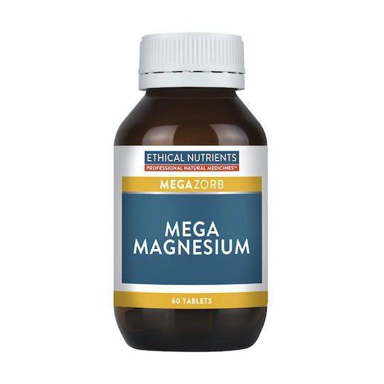 Ethical Nutrients Mega Magnesium, 60 or 120 tablets