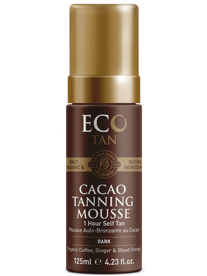 Eco Tan Cacao Tanning Mousse, 125ml