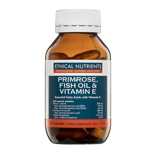Ethical Nutrients Primrose, Fish Oil, & Vitamin E, 60 capsules