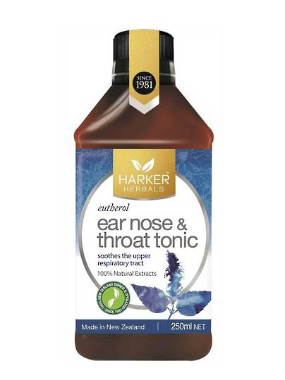 Harker Herbals Ear, Nose and Throat (Formula 713 Eutherol), 250ml