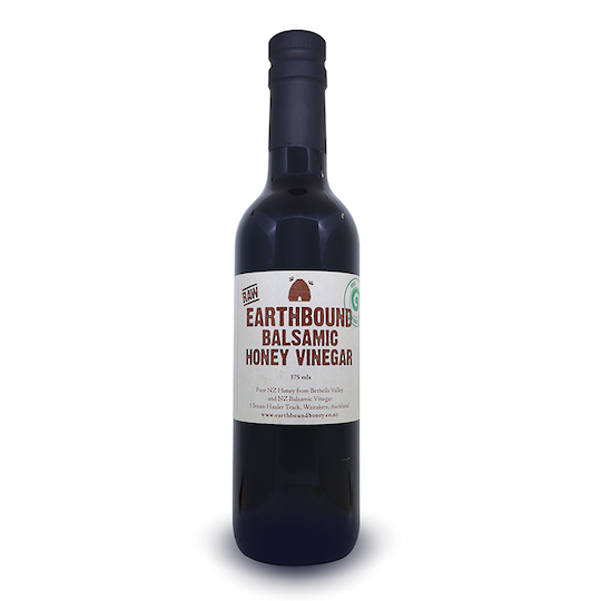 Earthbound Raw Balsamic Honey Vinegar, 375ml