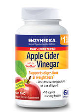 Enzymedica Apple Cider Vinegar, 60 capsules