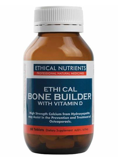 Ethical Nutrients Bone Builder with Vitamin D, 60 Tablets