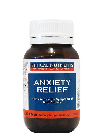 Ethical Nutrients Anxiety Relief, 60 Tablets