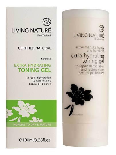 Living Nature Extra Hydrating Toning Gel, 100ml