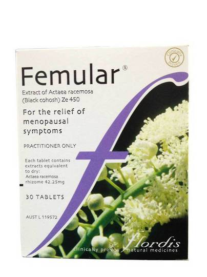Flordis Femular, 30 Tablets (best before May 2021)