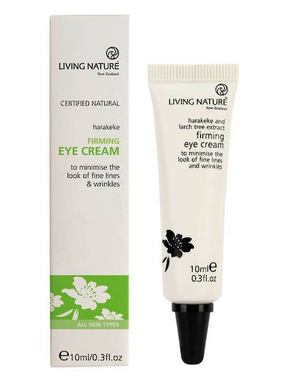 Living Nature Firming Eye Cream, 10ml