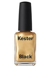 Kester Black Nail Polish Frizzy Logic - Metallic Gold, 15ml