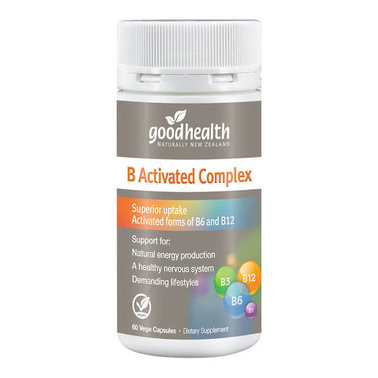 Good Health B Activated Complex, 60 Capsules