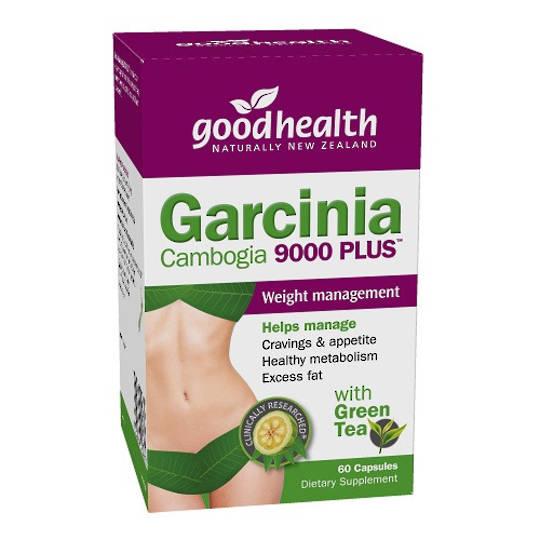 Good Health Garcinia Cambogia 9000 Plus with GT, 60 Caps