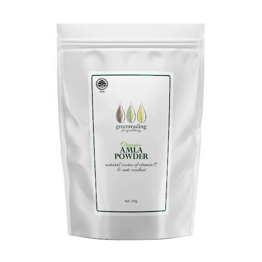 Green Trading Organic Amla Powder, 250g