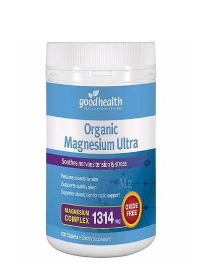 Good Health Organic Magnesium Ultra, 60 Tablets