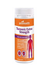 Good Health Turmeric Extra Strength, 30 or 60 capsules