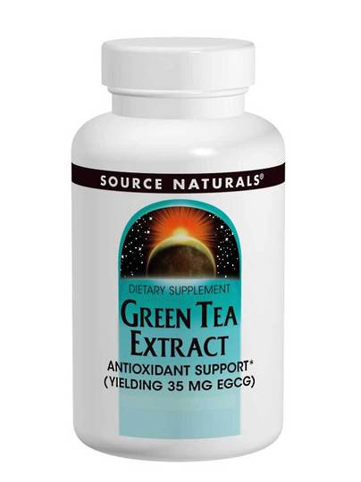 Source Naturals Green Tea Tablets (120) use by end 05/21