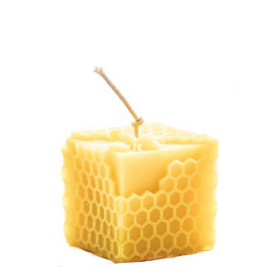 Hexton Bee Company Honeycomb Cube Candle