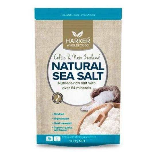 Harker Herbals Celtic & NZ Sea Salt, 300g (no kelp)