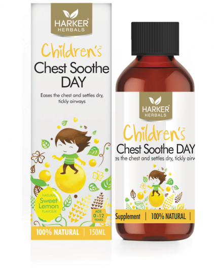 Harker Herbals Children's Chest Soothe Day, 150ml