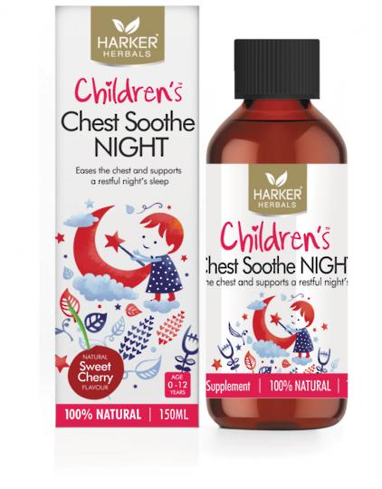 Harker Herbals Children's Chest Soothe Night, 150ml
