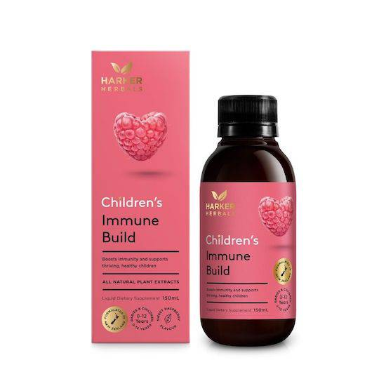 Harker Herbals Children's Immune Build, 150ml IN STOCK