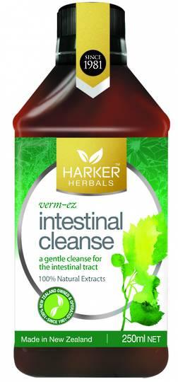 Harker Herbals Intestinal Cleanse (Formula 825 Verm-ez), 250ml & 500ml