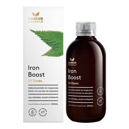 Harker Herbals Iron Boost, 250ml