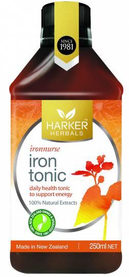 Harker Herbals Iron Tonic (Formula 741), 250ml