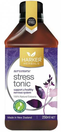 Harker Herbals Stress Tonic (Formula 1036),  250ml and 500ml