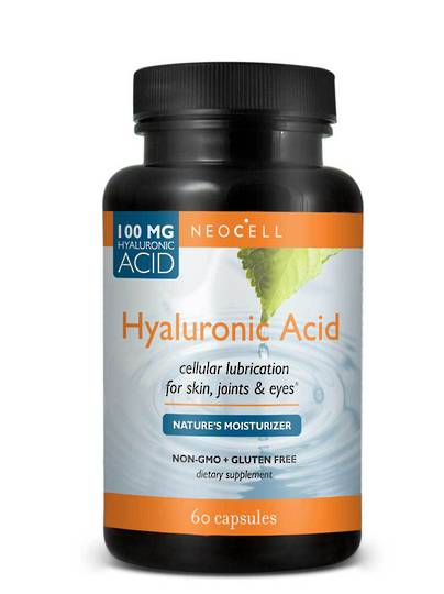 NeoCell Hyaluronic Acid, 60 Capsules (best before 08/20)