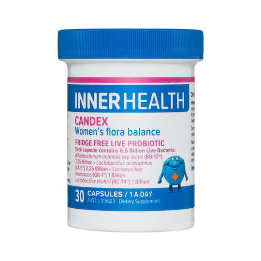 Inner Health Candex, 30 caps (use by end Feb 21)