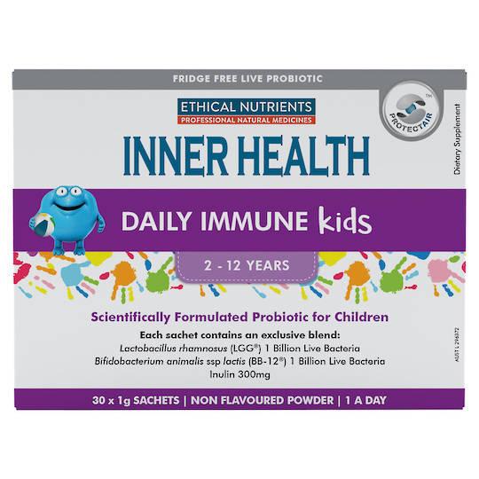 Inner Health Daily Immune Kids, 30 x 1g sachets