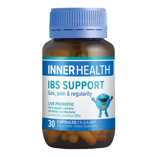 Inner Health IBS Support, 30 or 90 caps