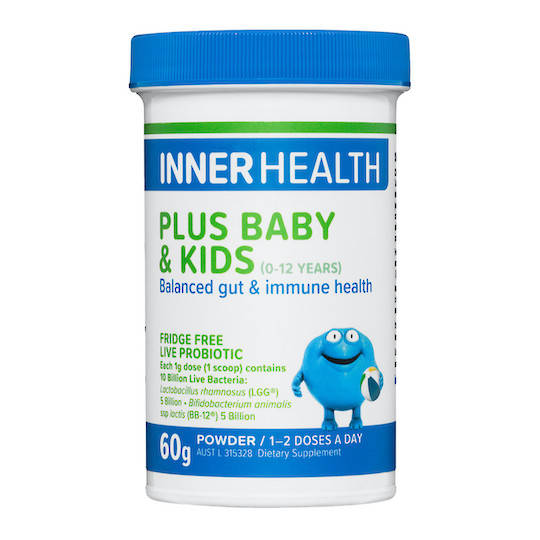 Inner Health Plus Baby & Kids, 60g Powder (use by end Dec 20)