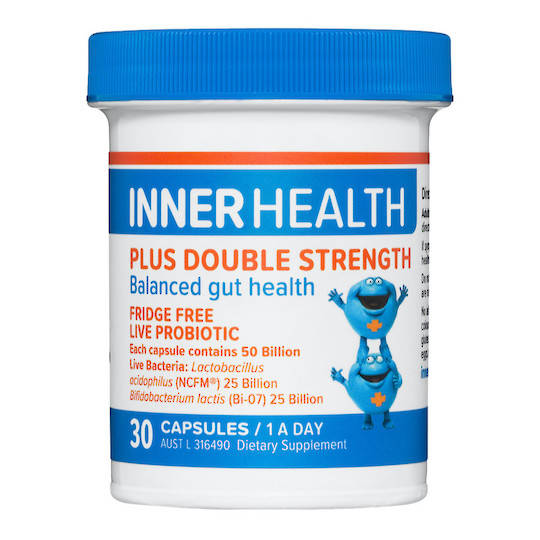 Inner Health Plus Double Strength, 30 or 60 caps